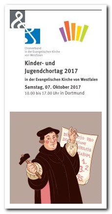 Kinder und Jugendchortag Flyer